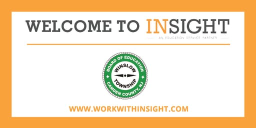 NJ - Insight Onboarding Sessions for Winslow Township Schools