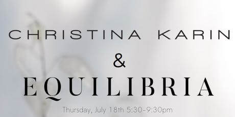 Find Your Center with Christina Karin x Equilibria CBD tickets