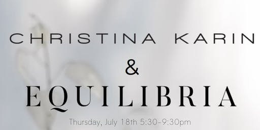 Find Your Center with Christina Karin x Equilibria CBD