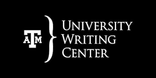 August 2019 Dissertation/Thesis Writing Retreat