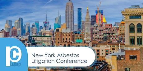 New York Asbestos Litigation Conference 2019 tickets