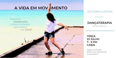 A VIDA EM MOVIMENTO - Dançaterapia Método Maria Fux tickets