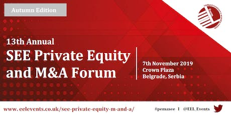 SEE Private Equity and M&A Forum 2019 tickets