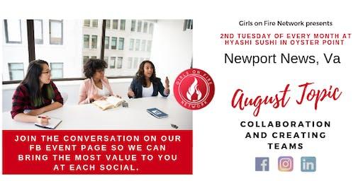 Newport News, Va   Girls on Fire Monthly Social
