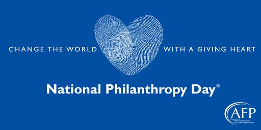 National Philanthropy Day 11/12/19