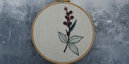 Hand Embroidery Workshop - Raising money for Mind