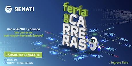Feria de Carreras SENATI tickets