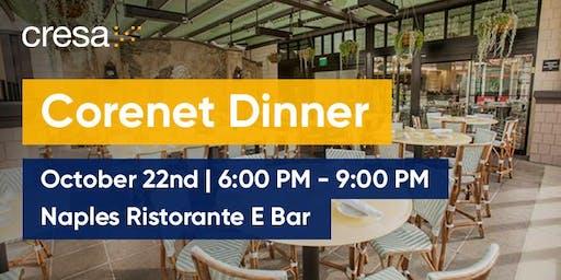 Corenet Dinner