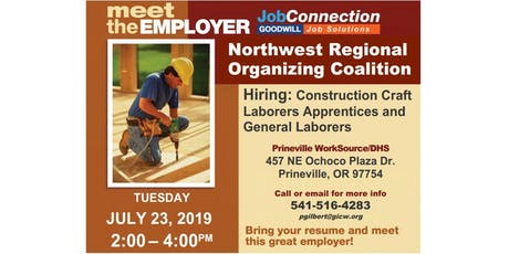 Hiring Event - Prineville - 7/23/19 tickets