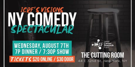 ICRF's Visions NY Comedy Spectacular tickets