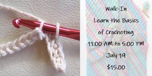 Walk-In: Learn the Basics of Crocheting