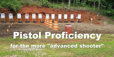 June 2020 Pistol Proficiency tickets