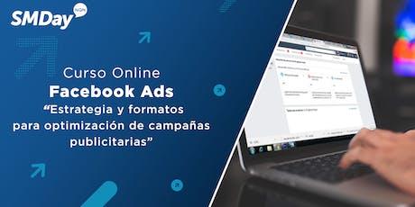 Curso Facebook Ads: Estrategias y formatos para optimizar resultados entradas