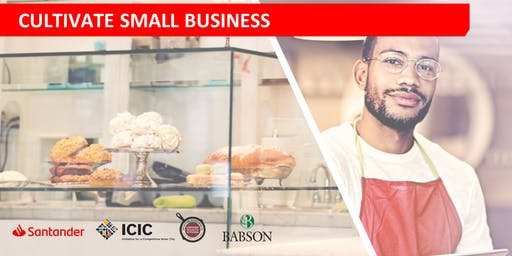 Information Session for Santander Bank's Cultivate Small Business Program