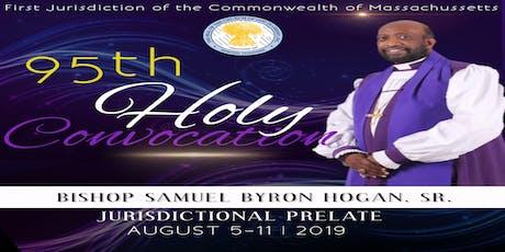 #95th Holy Convocation  entradas