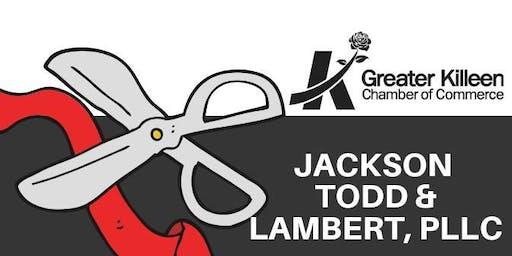 Ribbon Cutting/Reveal: Jackson Todd & Lambert, PLLC