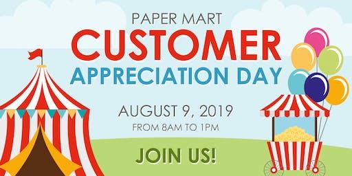 Paper Mart Customer Appreciation Day