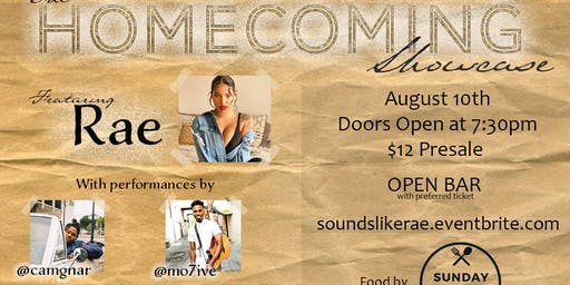 The Homecoming Showcase