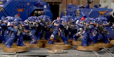 Miniature Painting 101: Paint a Space Marine tickets