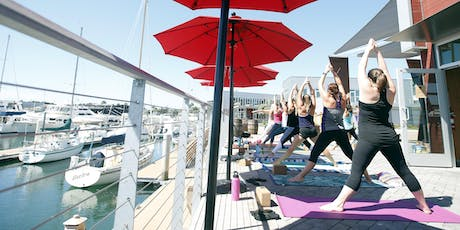 Waterfront Yoga + Beer tickets