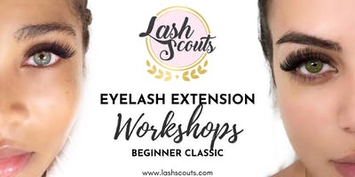 Lash Scouts Beginner Classic Eyelash Extension Workshop