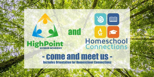 Meet Us: Homeschool Connections & HighPoint Hybrid Academy (August 27)