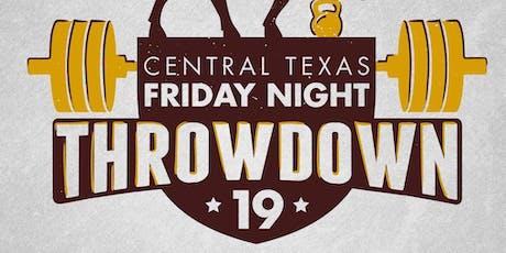 FitnessLab CrossFit - Central Texas Friday Night Throwdown tickets