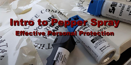 April 2020 Intro to Pepper Spray  tickets