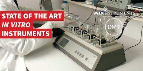 """Workshop """"Reatividade vascular em ambiente de pressão controlada -in vitro"""" ingressos"""