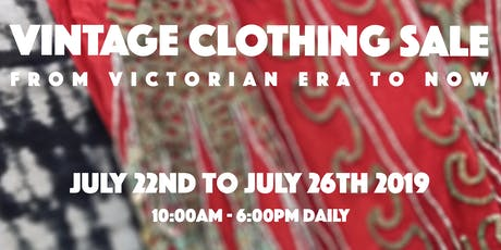 Vintage Clothing Sale! tickets