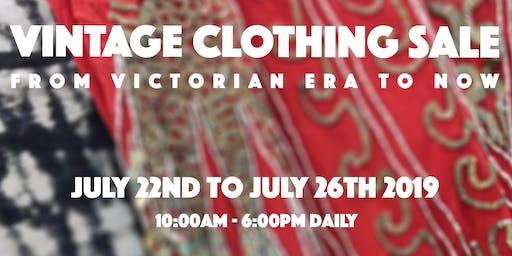 Vintage Clothing Sale!