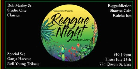 Reggae Night at Jasper Dandy tickets