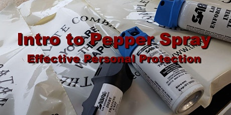 Sept 2020 Intro to Pepper Spray  tickets