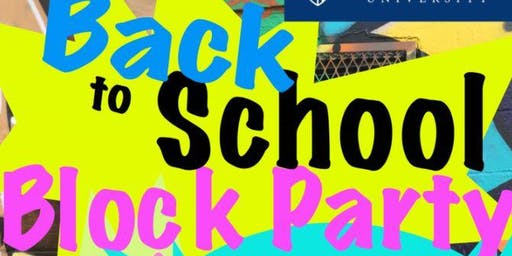 Reid Community Back to School Block Party