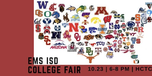 2019 EMS ISD College Fair (College Rep. Sign Up)