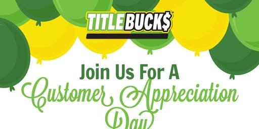 Community Appreciation Day at TitleBucks Augusta, GA 3