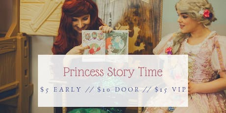 Storytime with a Princess tickets