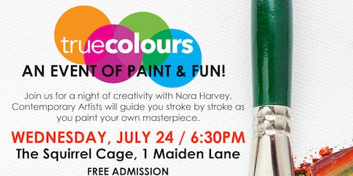 TRUE COLOURS PAINT NIGHT