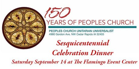 Peoples Church 150th Anniversary Celebration Dinner tickets