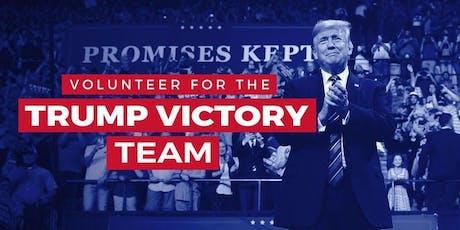Trump Victory Leadership Initiative Voter Registration Training tickets