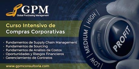 Curso Intensivo de Compras Corporativas (Sede: Santiago) entradas
