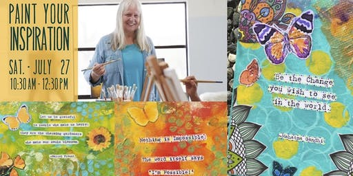 Paint Your Inspiration with Karen Lynn Ingalls