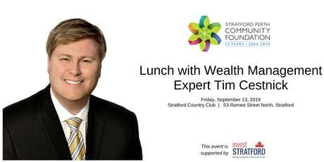 Lunch with Wealth Management Expert Tim Cestnick tickets