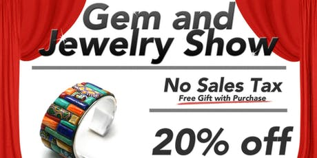 Gem and Jewelry Show tickets