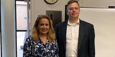 Meet our Candidates Laura Ramirez-Drain and Chris Bowen