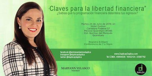 """Conferencia """"Claves para la Libertad Financiera"""""""