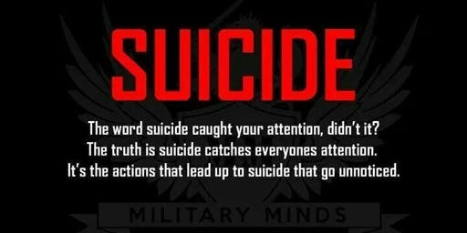 Suicide Prevention from a Military Perspective by Mark Mancini