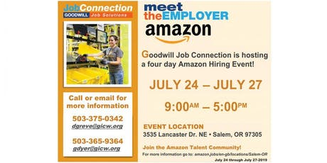 Hiring Event - July 24 to July 27 tickets