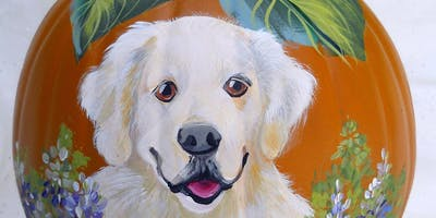 Paint Your Pet on a Pumpkin at Twisted Root!