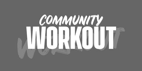 SERV Community Workout tickets